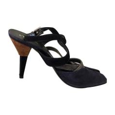 Heeled Sandals PRADA Multicolor