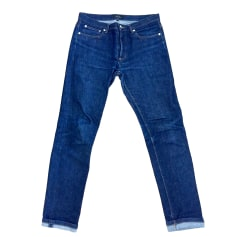 Straight Leg Jeans A.P.C. Blue, navy, turquoise