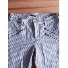 Jeans slim MAISON SCOTCH Blanc, blanc cassé, écru