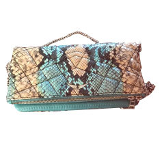 Leather Clutch ZADIG & VOLTAIRE Blue, navy, turquoise