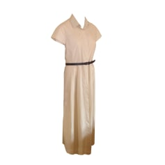 Robe mi-longue MAX MARA WEEKEND Beige, camel