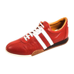 Sneakers BALLY Red, burgundy