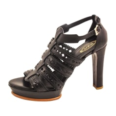 Heeled Sandals TOD'S Black
