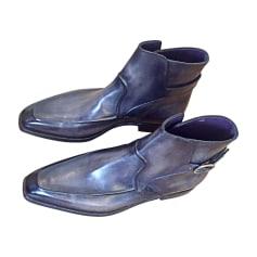 Stiefeletten, Ankle Boots BERLUTI Grau, anthrazit