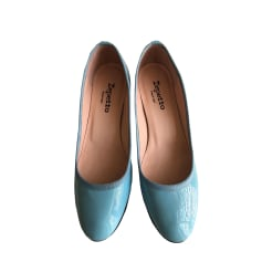 Pumps, Heels REPETTO Blue, navy, turquoise