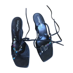 Sandales compensées STEPHANE KÉLIAN Noir