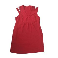 Robe courte IKKS Rouge orange