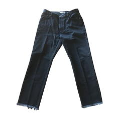 Pantalon large CÉLINE Noir