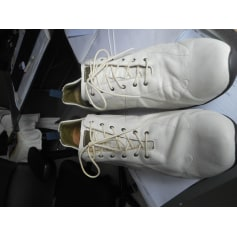 Lace Up Shoes KENZO White, off-white, ecru
