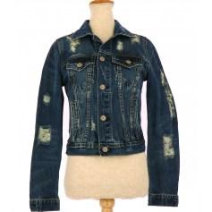 Coat LE TEMPS DES CERISES Blue, navy, turquoise