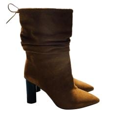 Bottines & low boots à talons IRO Beige, camel