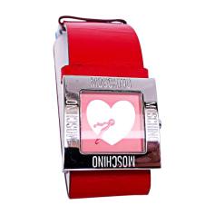 Wrist Watch MOSCHINO Silver