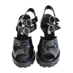 Heeled Sandals PRADA Black