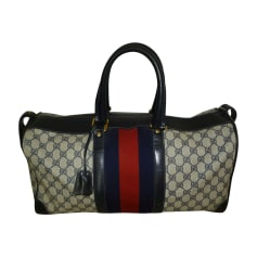 Non-Leather Oversize Bag GUCCI Blue, navy, turquoise