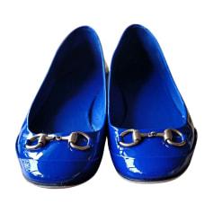 Ballerine GUCCI Blu, blu navy, turchese