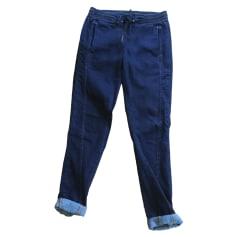 Wide Leg Jeans, Boyfriend Jeans IKKS Blue, navy, turquoise