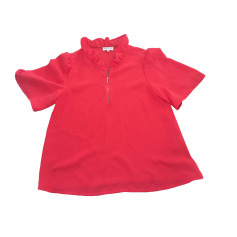 Top, t-shirt CLAUDIE PIERLOT CORAIL