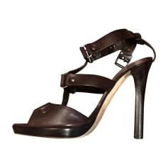 Sandales à talons JIMMY CHOO Marron