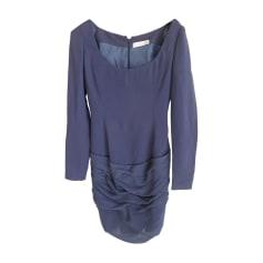 Robe mi-longue CHLOÉ Bleu, bleu marine, bleu turquoise