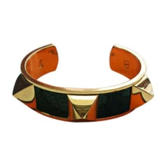 Armband HERMÈS Collier de Chien Grün