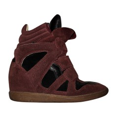 Baskets ISABEL MARANT ETOILE Rouge, bordeaux