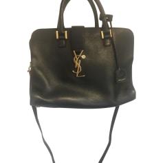Leather Handbag YVES SAINT LAURENT Chyc Black