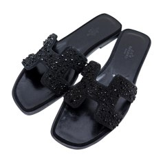 Mules Hermès Femme   articles luxe - Videdressing 55c148a3b88