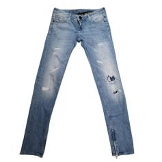 Jeans slim GUESS Blu, blu navy, turchese