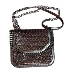 Leather Handbag STELLA MCCARTNEY Silver