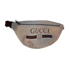 Shoulder Bag GUCCI White, off-white, ecru