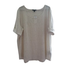Top, T-shirt RALPH LAUREN White, off-white, ecru