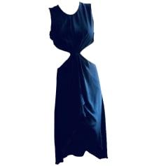 Robe mi-longue BCBG MAX AZRIA Noir