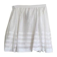 Mini Skirt BURBERRY White, off-white, ecru