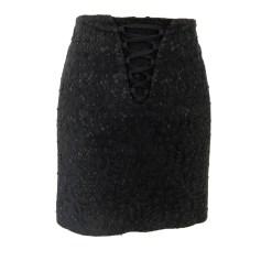 Mini Skirt KAREN MILLEN Black