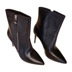 Wedge Ankle Boots MICHAEL KORS Black