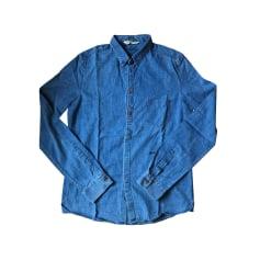 Chemise GOLDEN GOOSE Bleu, bleu marine, bleu turquoise