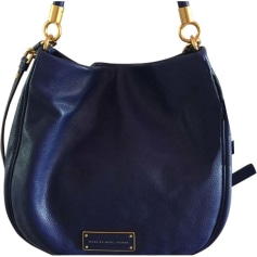 Leather Handbag MARC JACOBS Blue, navy, turquoise