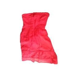 Robe courte COMPTOIR DES COTONNIERS Rouge, bordeaux
