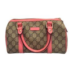 Leather Handbag GUCCI Pink, fuchsia, light pink