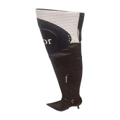 Thigh High Boots DIOR Black