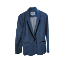 Blazer CLAUDIE PIERLOT Blue, navy, turquoise