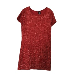 Mini Dress ZADIG & VOLTAIRE Red, burgundy
