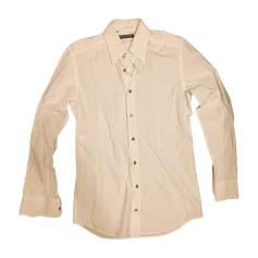 Camicia DOLCE & GABBANA Bianco, bianco sporco, ecru