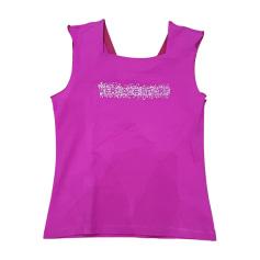 Top, T-shirt VERSACE Pink, fuchsia, light pink