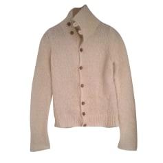 Vest, Cardigan DIESEL White, off-white, ecru