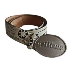 Cintura alta JOHN GALLIANO Bianco, bianco sporco, ecru