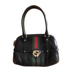 Leather Handbag GUCCI Black