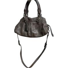 Leather Handbag MARC JACOBS Taupe
