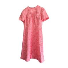Midi Dress LOUIS VUITTON Pink, fuchsia, light pink