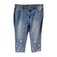 Cropped Pants, Capri Pants MICHAEL KORS Blue, navy, turquoise